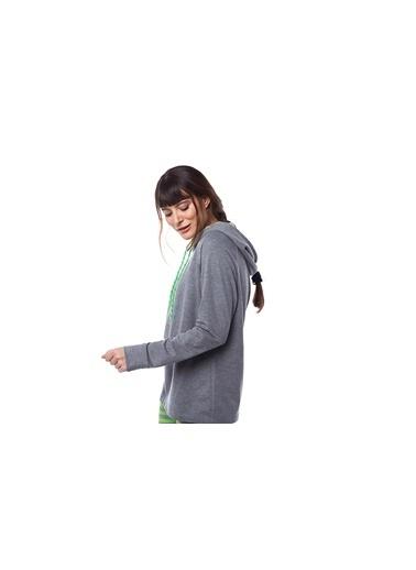 Pamuk & Pamuk Kadın Neon Yeşil Çizgili Tayt Takım Yeşil